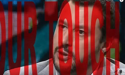 salvini nel video di Miby