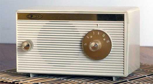 Radio a valvole Zephyr 5005
