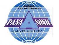 Logo Panasonic anni 60
