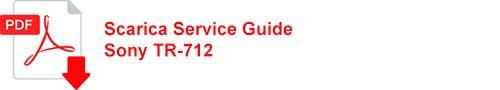 scarica service guide TR 712