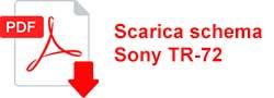 Scarica schema Sony TR 72
