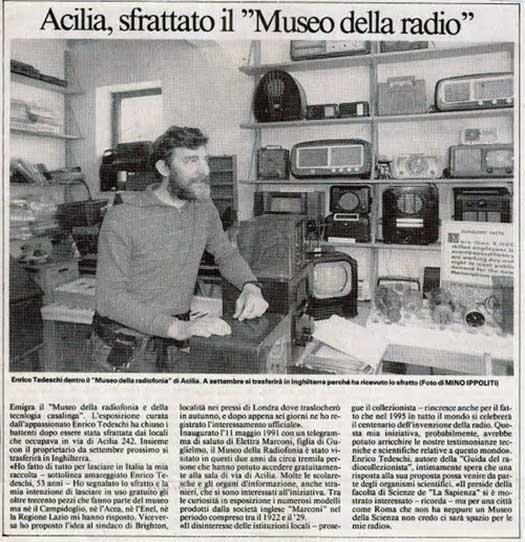 Museo della radio di Tedeschi