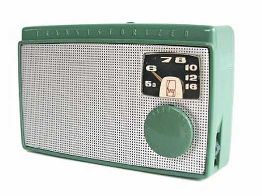 radio sony TR55